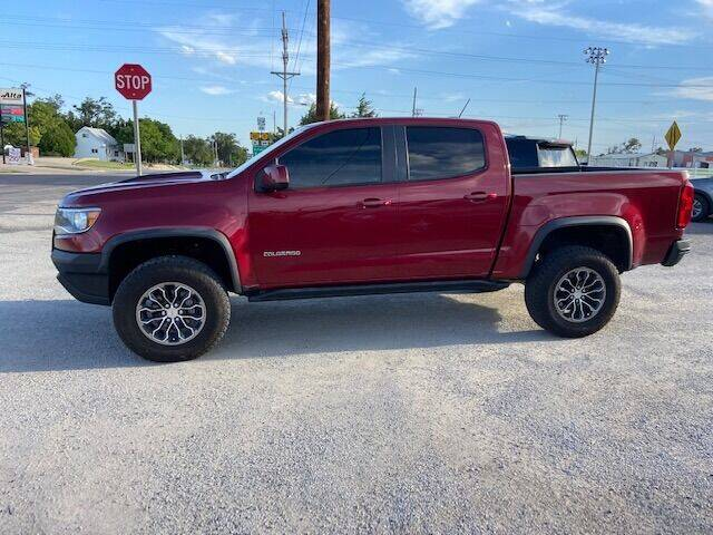 2017 Chevrolet Colorado for sale at J & S Auto in Downs KS