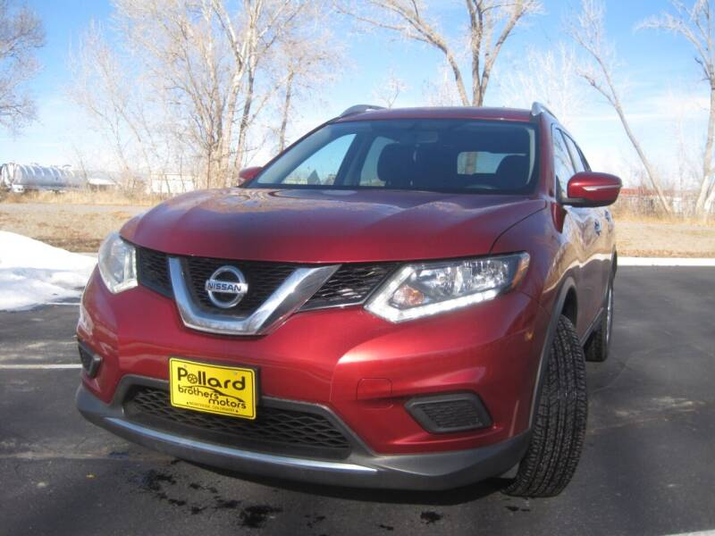 2015 Nissan Rogue for sale at Pollard Brothers Motors in Montrose CO