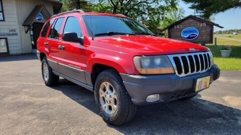 1999 Jeep Grand Cherokee for sale at Shores Auto in Lakeland Shores MN