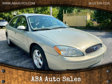 2004 Ford Taurus for sale at ABA Auto Sales in Bloomington IN