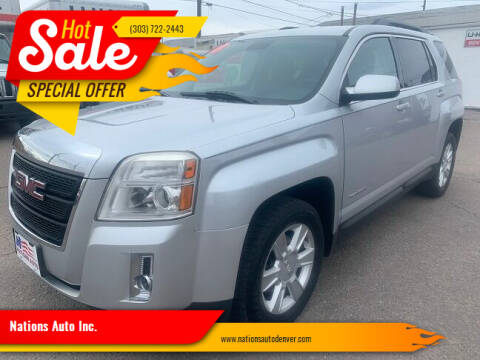 2013 GMC Terrain for sale at Nations Auto Inc. in Denver CO