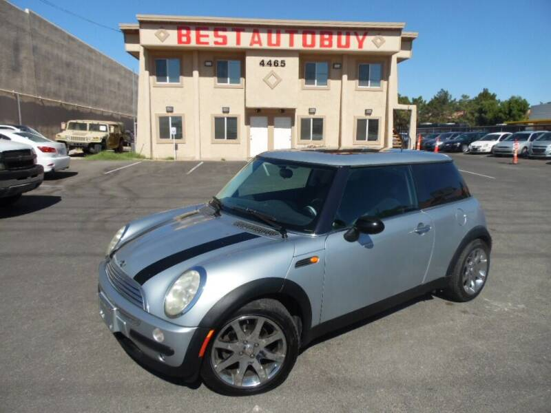 2003 MINI Cooper for sale at Best Auto Buy in Las Vegas NV