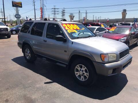 1999 Nissan Pathfinder for sale at Texas 1 Auto Finance in Kemah TX