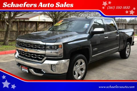 2017 Chevrolet Silverado 1500 for sale at Schaefers Auto Sales in Victoria TX