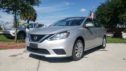 2017 Nissan Sentra for sale at GP Auto Connection Group in Haines City FL