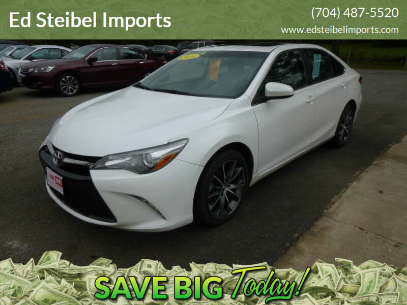 2016 Toyota Camry for sale at Ed Steibel Imports in Shelby NC