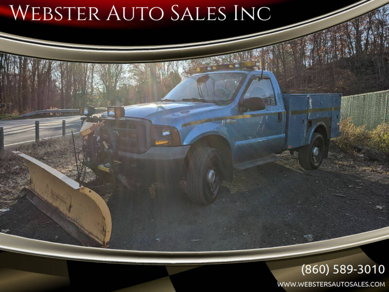 2005 Ford F-350 Super Duty for sale at Webster Auto Sales Inc in Terryville CT