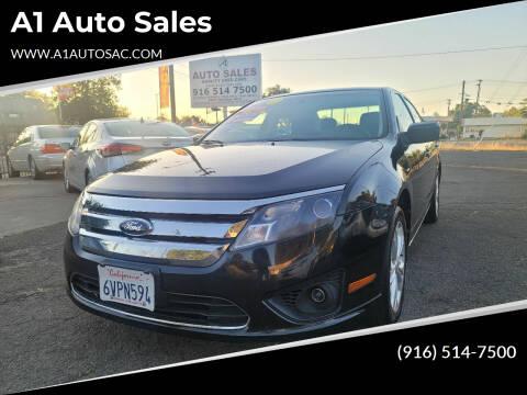 2012 Ford Fusion for sale at A1 Auto Sales in Sacramento CA