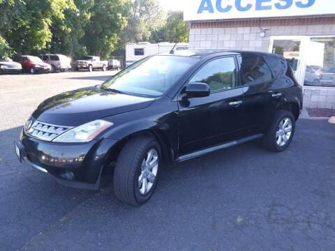 2007 Nissan Murano for sale at Access Auto in Salt Lake City UT
