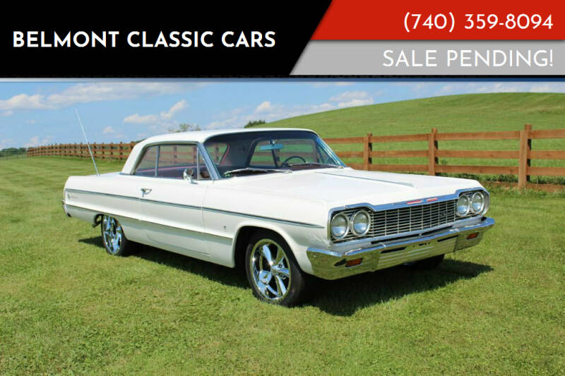 1964 Chevrolet Impala for sale at Belmont Classic Cars in Belmont OH
