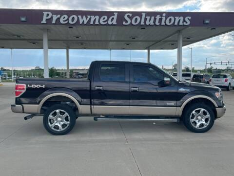 2013 Ford F-150 for sale at Preowned Solutions in Urbandale IA