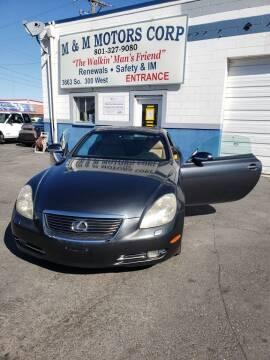 2007 Lexus SC 430 for sale at M&M Motors in Salt Lake City UT