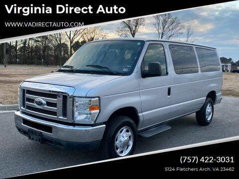 2010 Ford E-Series Wagon for sale at Virginia Direct Auto in Virginia Beach VA