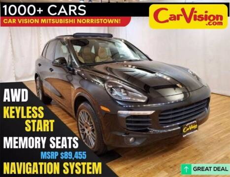 2017 Porsche Cayenne for sale at Car Vision Buying Center in Norristown PA