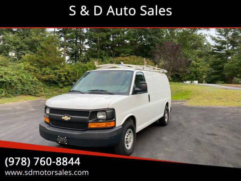 2014 Chevrolet Express Cargo for sale at S & D Auto Sales in Maynard MA