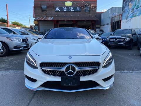 2015 Mercedes-Benz S-Class for sale at TJ AUTO in Brooklyn NY
