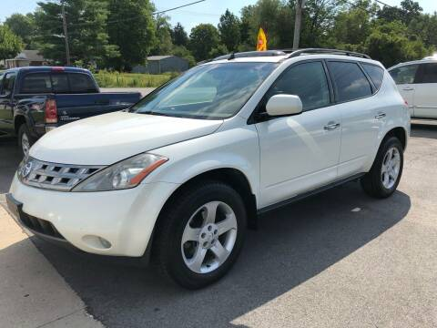 2005 Nissan Murano for sale at Wise Investments Auto Sales in Sellersburg IN