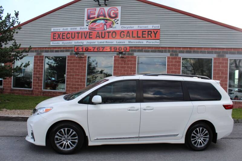 2019 Toyota Sienna for sale at EXECUTIVE AUTO GALLERY INC in Walnutport PA