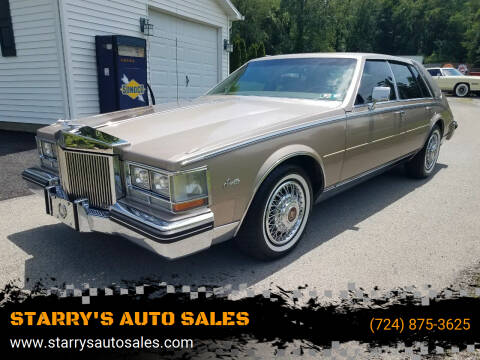 1985 Cadillac Seville for sale at STARRY'S AUTO SALES in New Alexandria PA