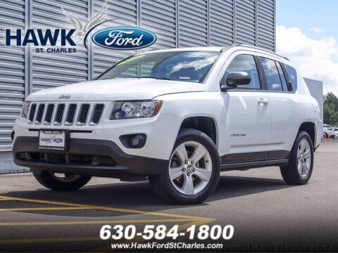 2016 Jeep Compass for sale at Hawk Ford of St. Charles in St Charles IL