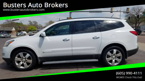 2010 Chevrolet Traverse for sale at Busters Auto Brokers in Mitchell SD