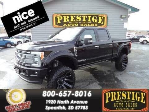 2019 Ford F-350 Super Duty for sale at PRESTIGE AUTO SALES in Spearfish SD