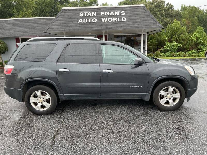 2007 GMC Acadia for sale at STAN EGAN'S AUTO WORLD, INC. in Greer SC