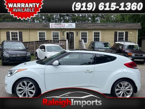 2013 Hyundai Veloster for sale at Raleigh Imports in Raleigh NC