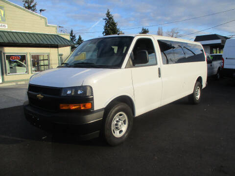 2019 Chevrolet Express Passenger for sale at Emerald City Auto Inc in Seattle WA