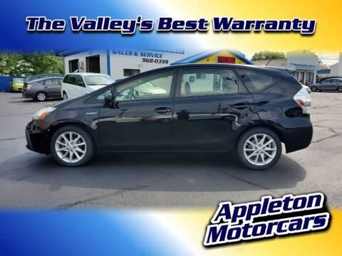 2013 Toyota Prius v for sale at Appleton Motorcars Sales & Service in Appleton WI