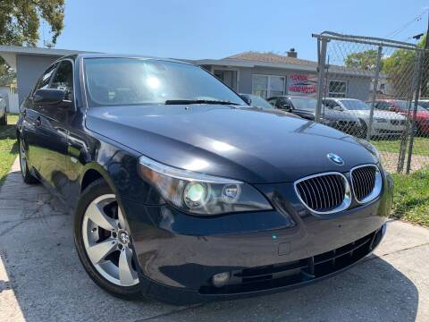 2007 BMW 5 Series for sale at FLORIDA MIDO MOTORS INC in Tampa FL