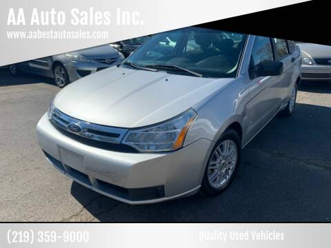 2009 Ford Focus for sale at AA Auto Sales Inc. in Gary IN