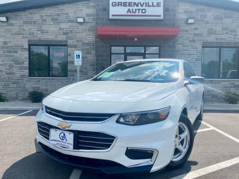 2018 Chevrolet Malibu for sale at GREENVILLE AUTO in Greenville WI