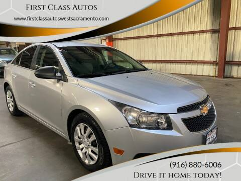 2011 Chevrolet Cruze for sale at Car Source Center in West Sacramento CA