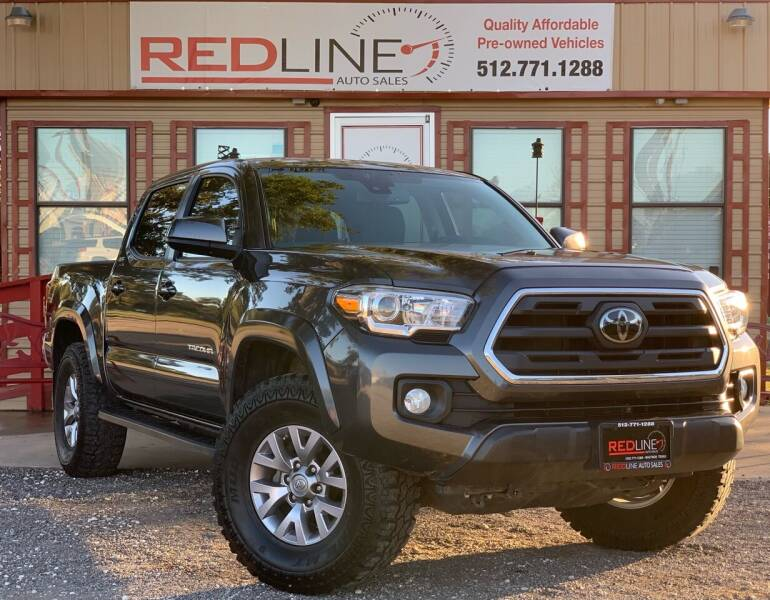 2018 Toyota Tacoma for sale at REDLINE AUTO SALES LLC in Cedar Creek TX