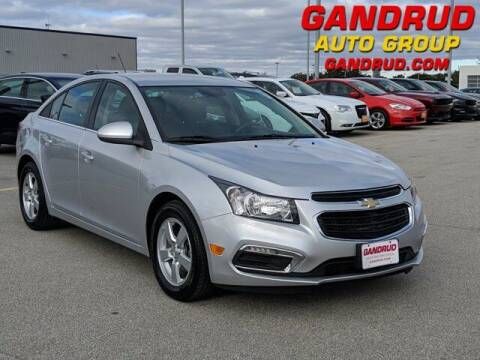2015 Chevrolet Cruze for sale at Gandrud Dodge in Green Bay WI