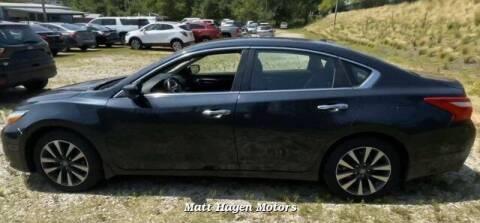 2016 Nissan Altima for sale at Matt Hagen Motors in Newport NC