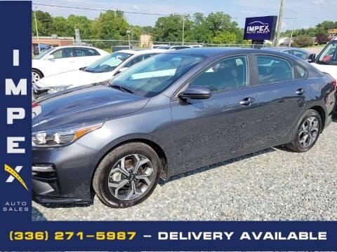2020 Kia Forte for sale at Impex Auto Sales in Greensboro NC