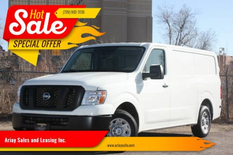 2017 Nissan NV Cargo for sale at Ariay Sales and Leasing Inc. in Denver CO