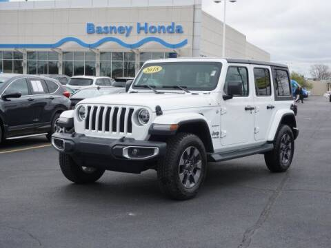 2018 Jeep Wrangler Unlimited for sale at BASNEY HONDA in Mishawaka IN