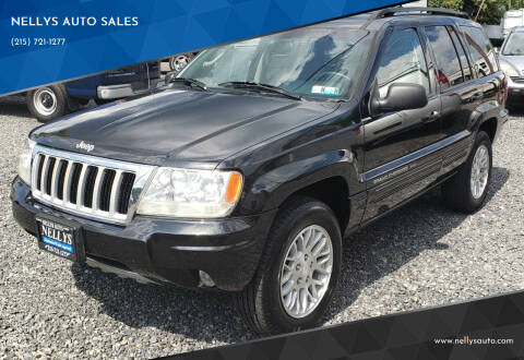 2004 Jeep Grand Cherokee for sale at NELLYS AUTO SALES in Souderton PA