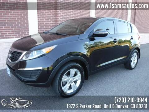 2013 Kia Sportage for sale at SAM'S AUTOMOTIVE in Denver CO