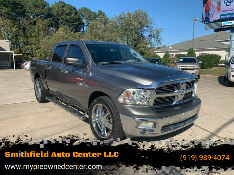 2009 Dodge Ram Pickup 1500 for sale at Smithfield Auto Center LLC in Smithfield NC