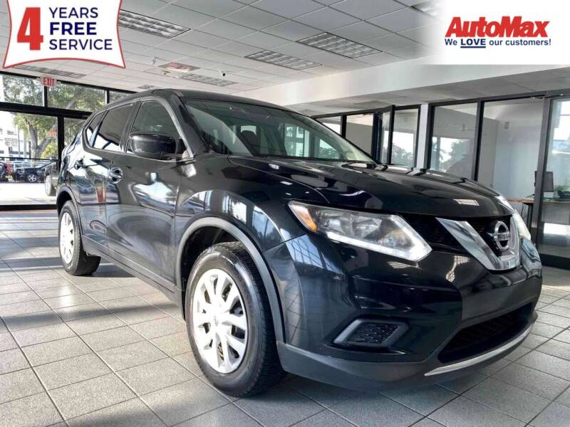 2016 Nissan Rogue for sale at Auto Max in Hollywood FL