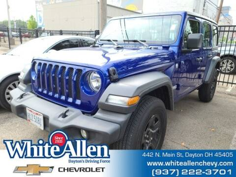 2018 Jeep Wrangler Unlimited for sale at WHITE-ALLEN CHEVROLET in Dayton OH