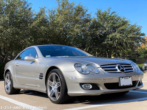 2007 Mercedes-Benz SL-Class for sale at Mr. Old Car in Dallas TX