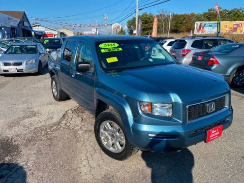 2008 Honda Ridgeline for sale at Bridge Road Auto in Salisbury MA