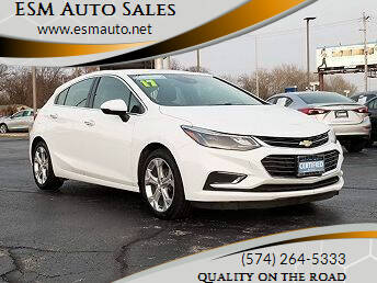 2017 Chevrolet Cruze for sale at ESM Auto Sales in Elkhart IN