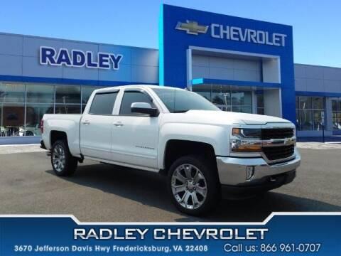 2018 Chevrolet Silverado 1500 for sale at Radley Cadillac in Fredericksburg VA