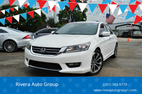 2014 Honda Accord for sale at Rivera Auto Group in Spring TX